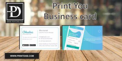visiting cards printing dubai