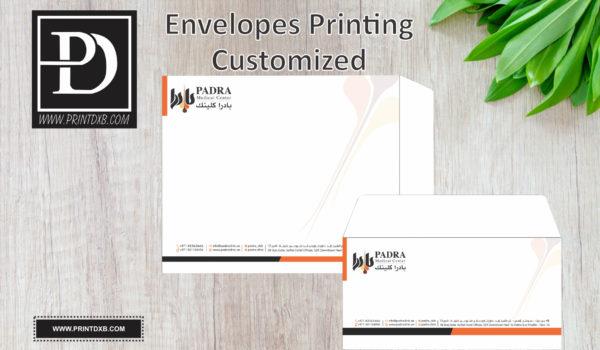 envelope printing dubai