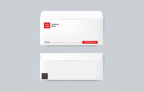 DL Envelope Design Printing Dubai