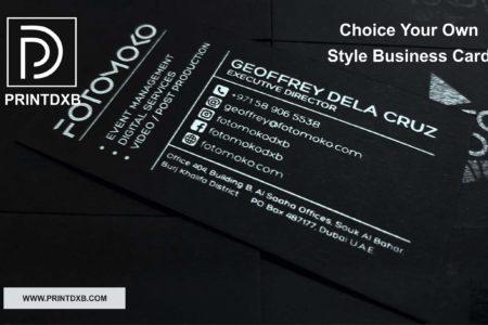 black-white-cards-printing-dubai