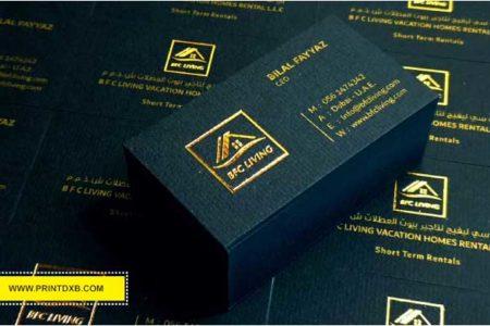 black-gold-business-card-printing-dubai-